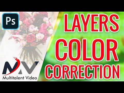 how to color correction in layers | JPEG ALBUM में कैसे कलर करेक्शन करें