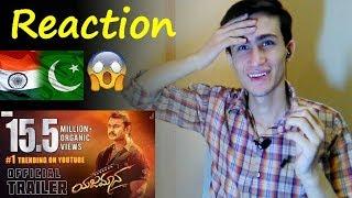 pakistani react on | Yajamana Trailer | Darshan Thoogudeepa |V Harikrishna | Shylaja Nag