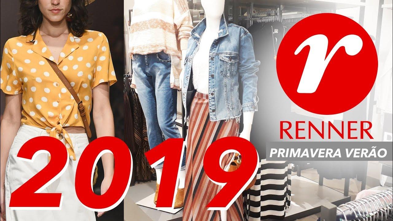 57a818279 RENNER - Moda Feminina Primavera Verão 2019 - Muitos looks e Preços ...