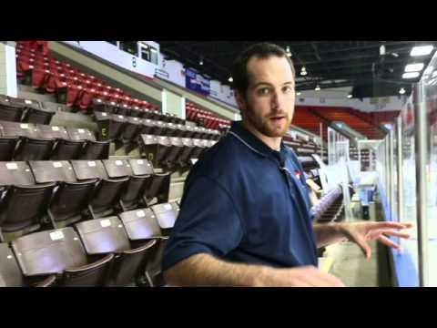 K-Wings' Joe Roberts explains the icing process