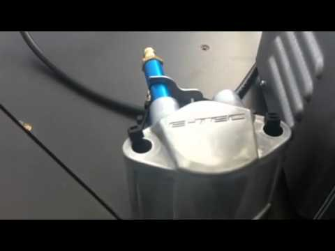 Cleaning E Tec fuel injector with Carbon Zapp