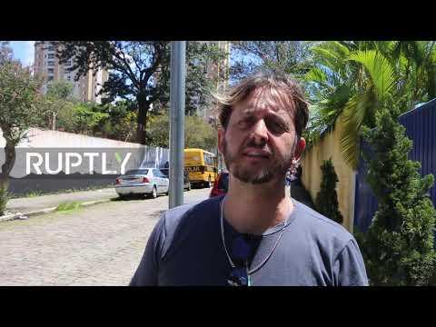 Six children among 10 dead after school shooting near Sao Paulo, in Brazil