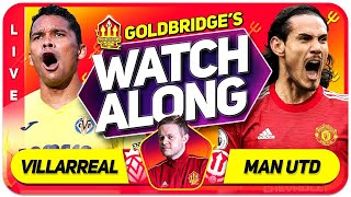 MANCHESTER UNITED vs VILLAREAL EUROPA LEAGUE FINAL With Mark GOLDBRIDGE LIVE