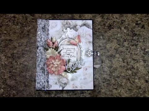 PART 2 TUTORIAL MINI ALBUM FOR BEGINNERS PS I LOVE YOU BY SHELLIE GEIGLE JS HOBBIES AND CRAFTS