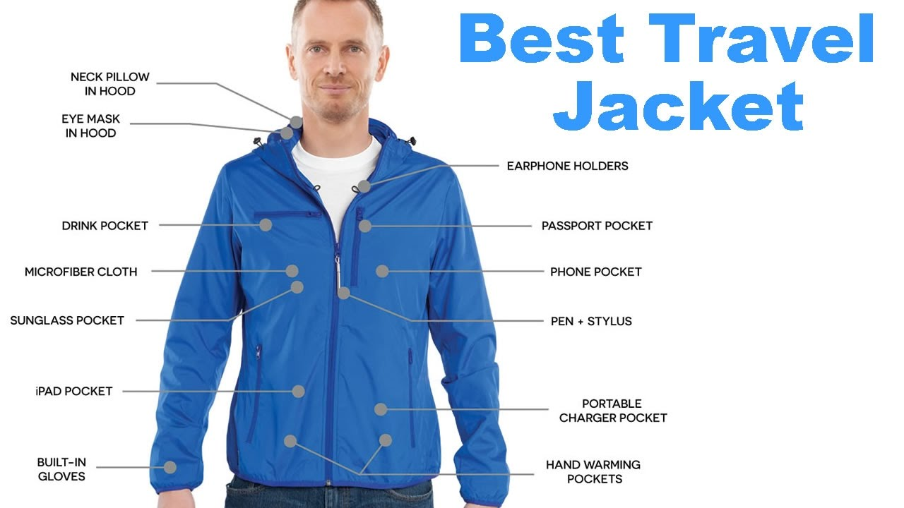 World S Best Travel Jacket Review Ultimate Multi Pocket