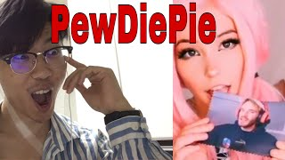 Proof that PewDiePie Wants Belle Delphine?!