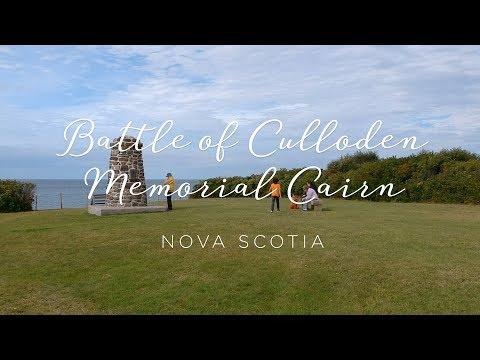Battle of Culloden Memorial - Knoydart, Nova Scotia [Drone Video]