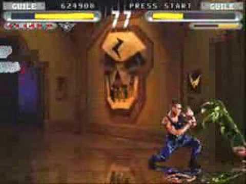 Street Fighter The Movie Arcade gameplay