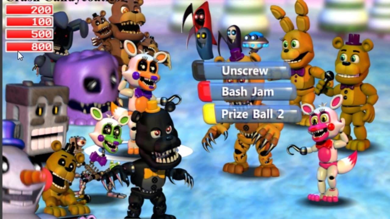 FNAF World Simulator amazing new screen shot! Play as more than 4  characters?!