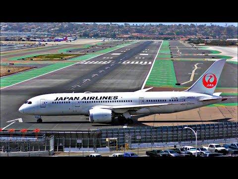 Incredible Planespotting at San Diego Intl Airport SAN, Lindbergh   April 13th 2018