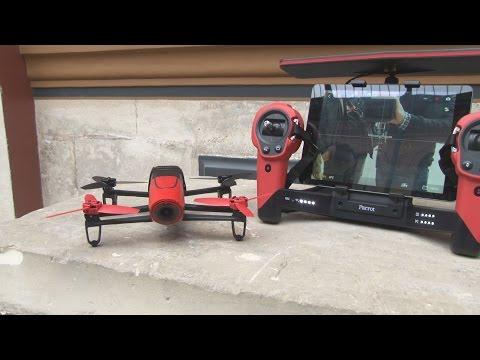 Bebop Drone : le nouveau quadricoptère Parrot