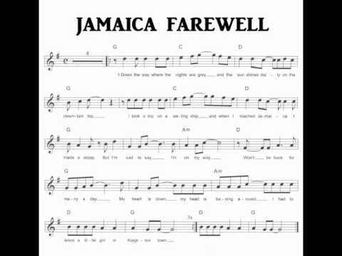 Jamaica Farewell Karaoke Youtube