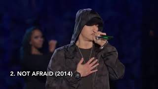 Top 5 Eminem live performances