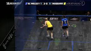 Squash tips: How to hit space effectively