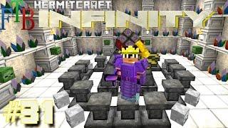 Minecraft Mods - FTB Infinity Ep. 31 - Road to Ichor TTKami ( HermitCraft Modded Minecraft )