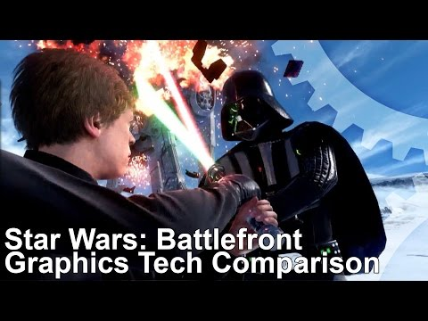 Star Wars Battlefront PC/PS4/Xbox One Comparison/Tech Analysis
