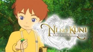 Ni no Kuni Wrath of the White Witch - The Deep Dark Wood | English Audio [Demo]