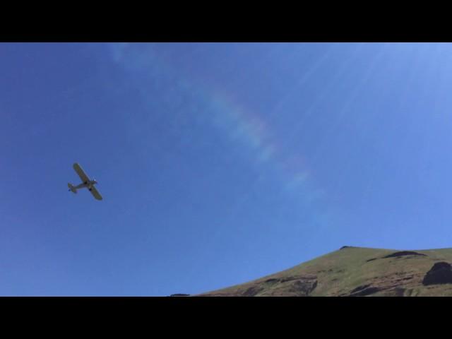 Super Cub Fly Over Deschutes River Bull Run
