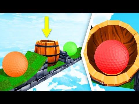 MEGA TROLL Hole Hide & Seek! - Golf It