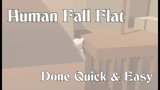 Human Fall Flat - Done Quick & Easy - All levels completed with shortcuts