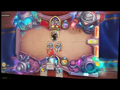 Hearthstone The Boomsday Project Challenge 4 of 7 - Lethal - Myra Rotspring - A Dim Flame