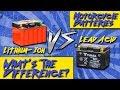 Lithium-Ion VS. Lead Acid Motorcycle Batteries | Sportbiketrackgear.com