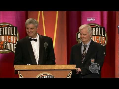 "Fred ""Tex"" Winter's Basketball Hall of Fame Enshrinement Speech"