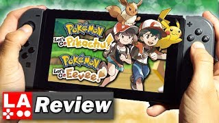 Pokemon: Let's Go Pikachu And Let's Go Eevee Review (Video Game Video Review)