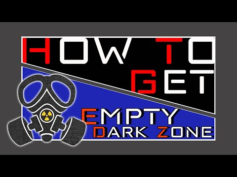 How To Get a EMPTY Dark Zone *NO other Agents* | The Division 2 | PurePrime