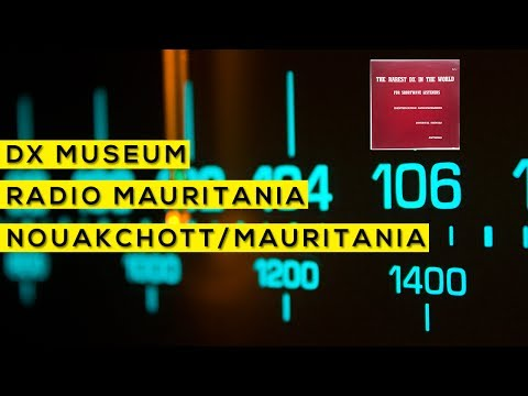 Os DX mais raros do mundo - Radio Mauritania