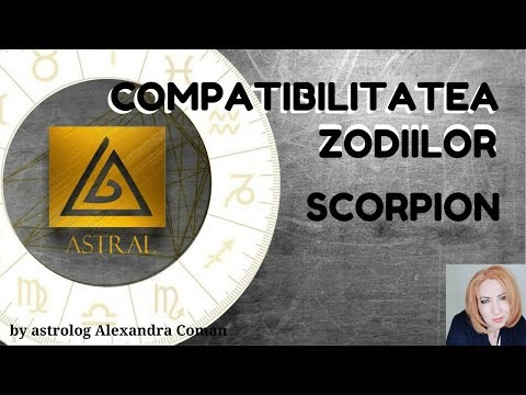 COMPATIBILITATEA ZODIILOR : SCORPION - by Astrolog Alexandra Coman