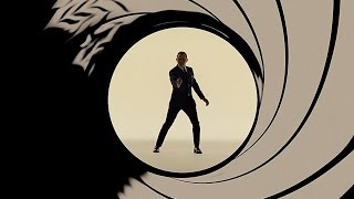 James Bond - Gunbarrel Sequences Compilation 1962-2015 HD