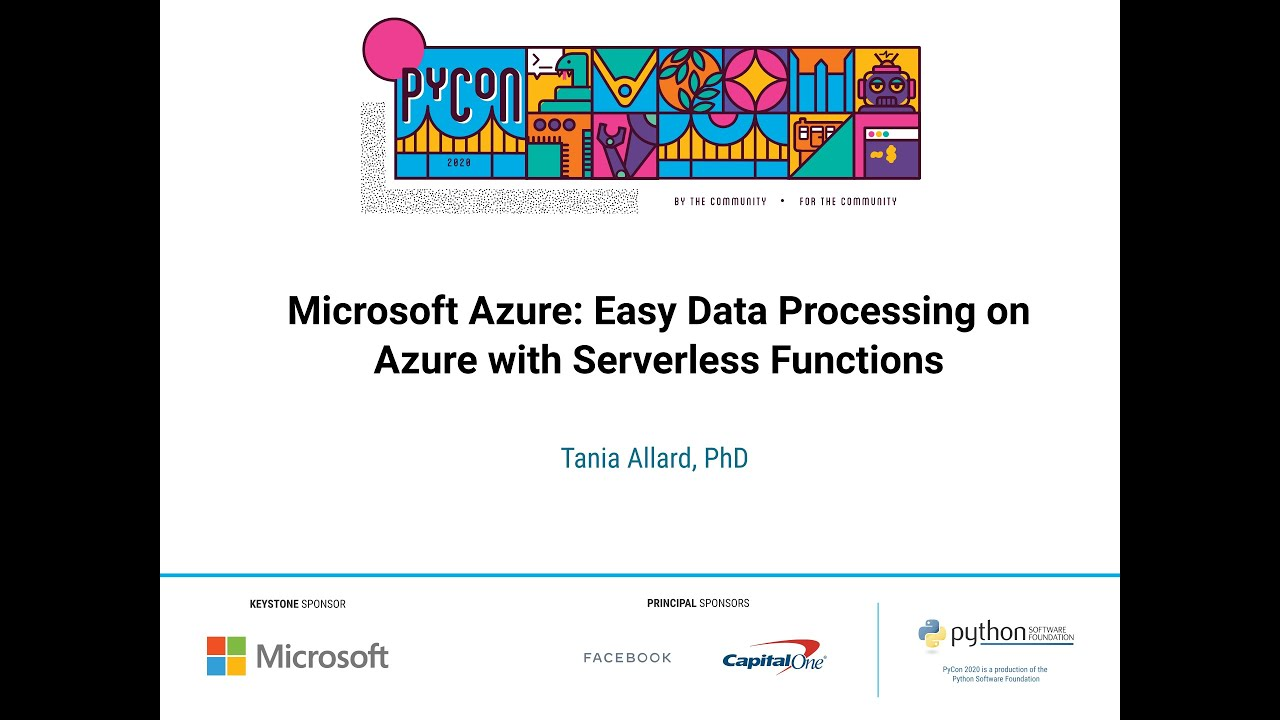 Image from Easy Data Processing With Azure Fun
