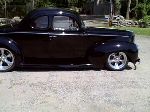 1940 Ford Street Rod Black Review Video