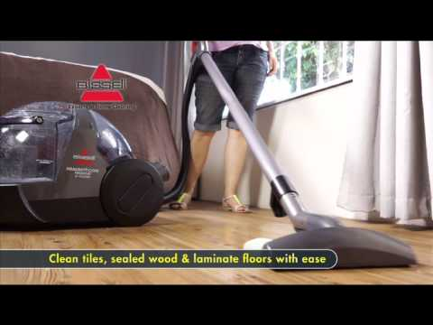 Bissell Hydroclean Complete Hard Floor Washing Demonstr