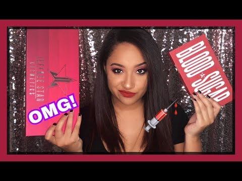 Blood Sugar Palette Tutorial | Jeffree Star Cosmetics Love Sick Collection!