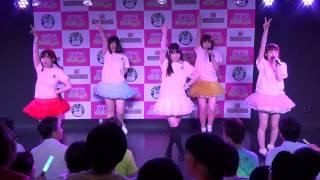 5月25日アキドラ対バン本番 Bチーム、りえぴ・ゆう・かな・さきちょん・...