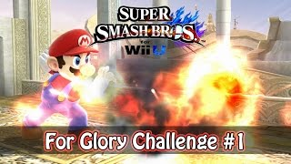 SSB4 - Kill Someone With a Fireball | For Glory Challenge #1