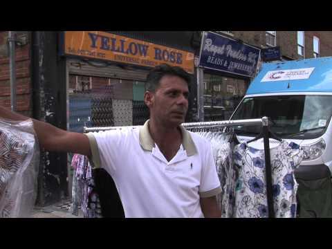 Petticoat Lane Market - Under Questioning