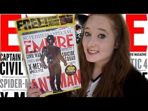 *ASMR* Soft-Spoken Leafing through Empire Magazine! (July 2015) | Amy McLean