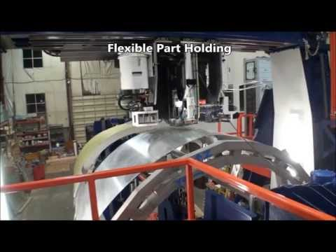 E7000 Fuselage Riveting Machine Overview