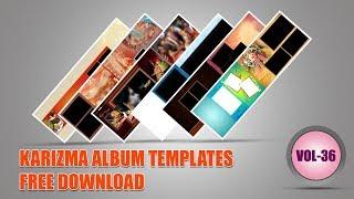 Indian 2019 Karizma Album Design 12x36 Psd Templates Free download VOL# 36  srinu photo editing.