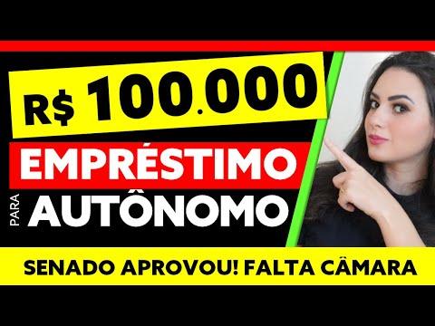 R$ 100 MIL: CONGRESSO QUER LIBERAR EMPRÉSTIMO DE ATÉ R$ 100 MIL PARA AUTÔNOMOS