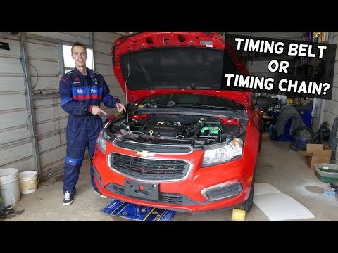TIMING BELT OR TIMING CHAIN CHEVROLET CRUZE 1.8 1.4 CHEVROLET SONIC 1.8 1.4