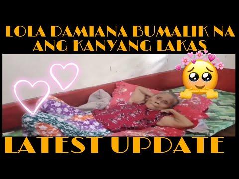 lola damiana latest update bumalik na ang kanyang sigla -  (2020)