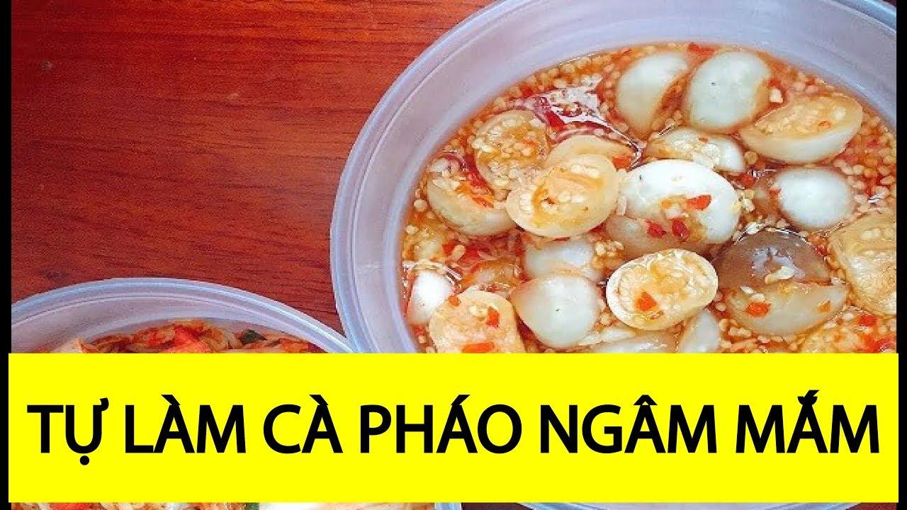 🎯Cà pháo muối nước mắm Garden egg in fish sauce Món ăn quê hương Việt