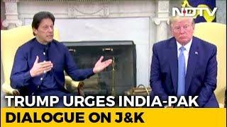 Donald Trump Urges India-Pak Dialogue On Kashmir In Call With Imran Khan
