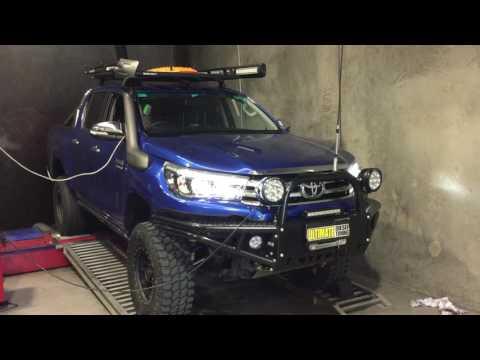 N80 Toyota Hilux Remap