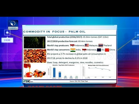 Price Of Palm Oil To Drop In 2018 - Report |Business Morning|