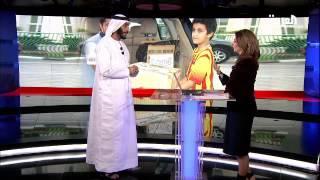 """مقابلة الدكتور عصام شرف من ادارة سلامة الغذاء في بلدية دبي حول """"زاد دبي"""" في قناة العربية"""